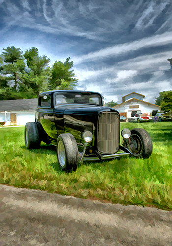 classic and antique car photographer